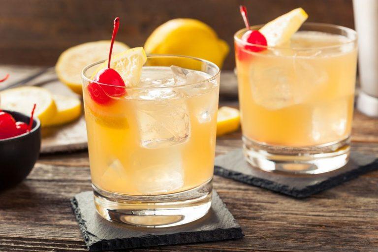 Cocktail Corner - Whisky Sour recette