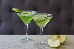 Cocktail Corner - Apple Martini recette