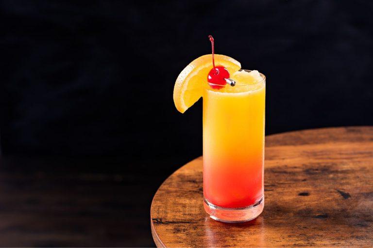 Cocktail Corner - Tequila Sunrise