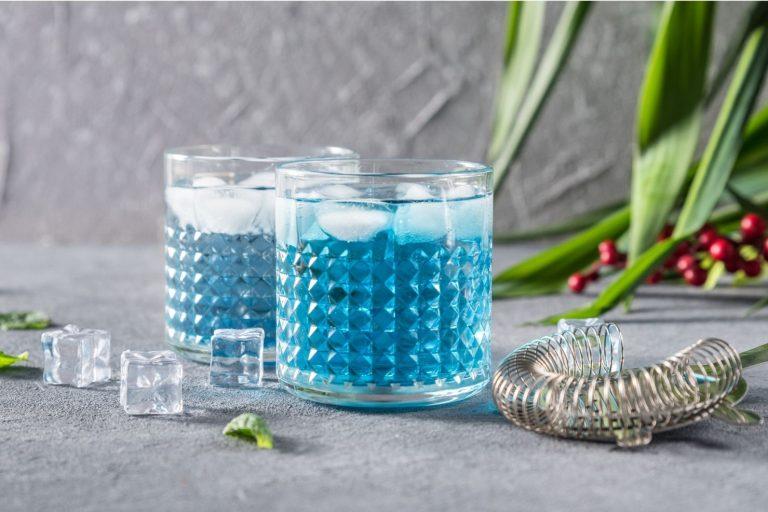 Cocktail Corner - Blue Lagoon recette