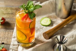 Cocktail Corner - Pimm's Cup recette