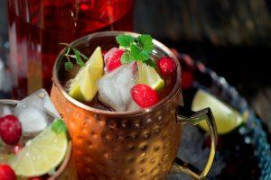 Cocktail Corner - Pomme Cranberry Moscow Mule recette